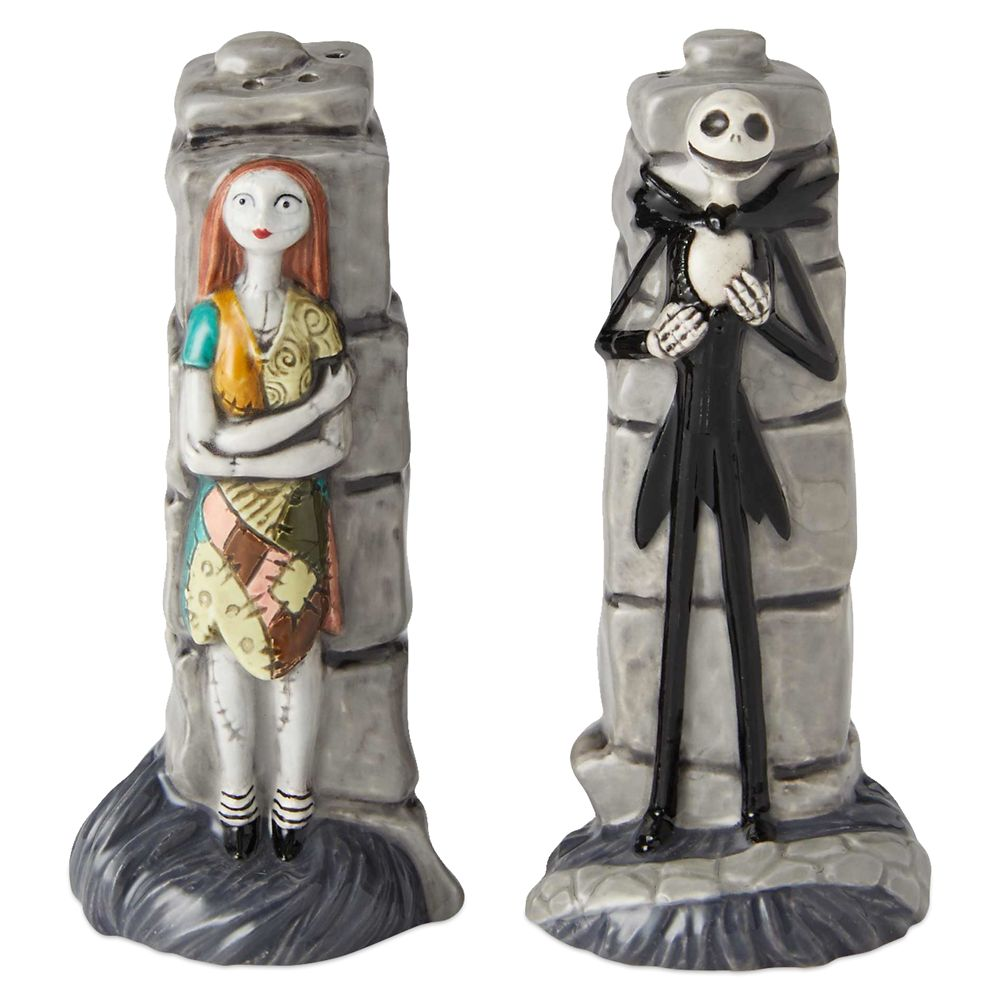 Jack and Sally Salt and Pepper Shakers by Enesco