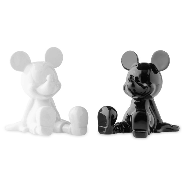 Mickey Mouse Salt and Pepper Shakers by Enesco