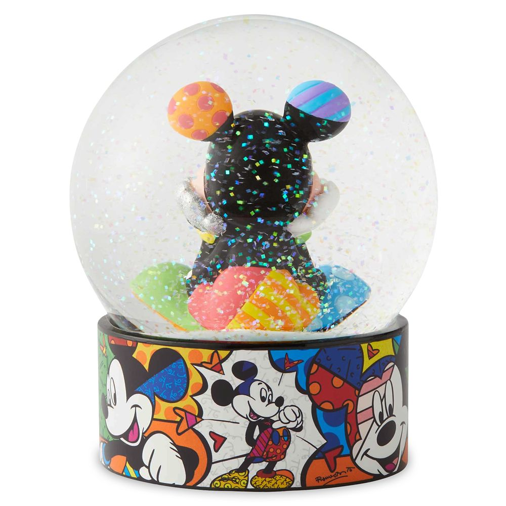 Mickey Mouse Water Globe by Britto