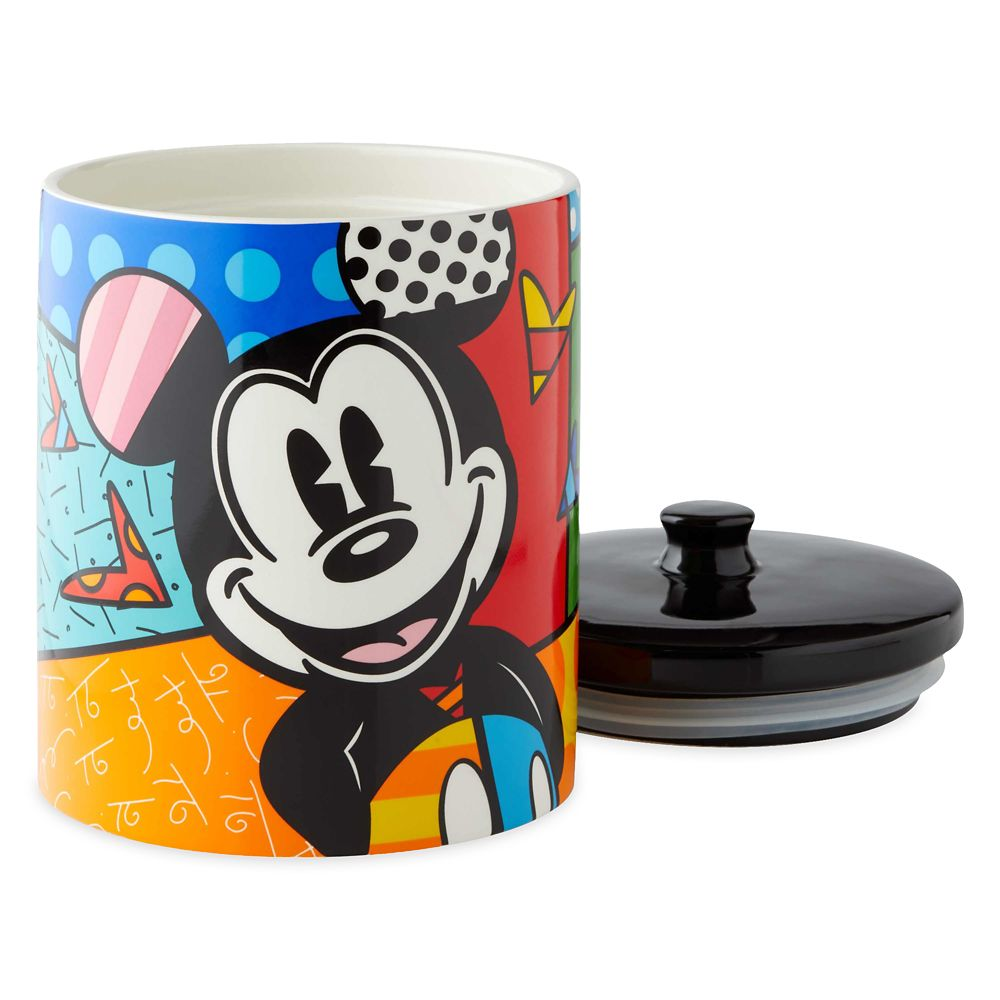 Mickey Mouse Canister by Britto
