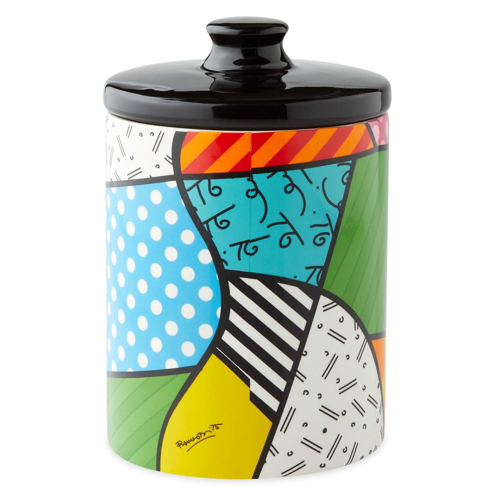 Mickey Mouse and Pluto Canister by Britto – Small