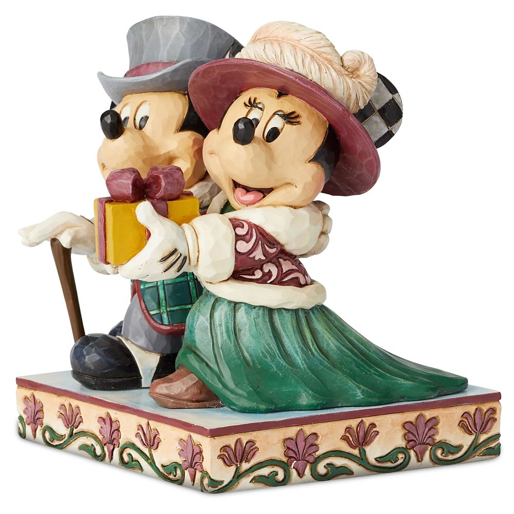Mickey and Minnie Mouse Victorian Figure by Jim Shore