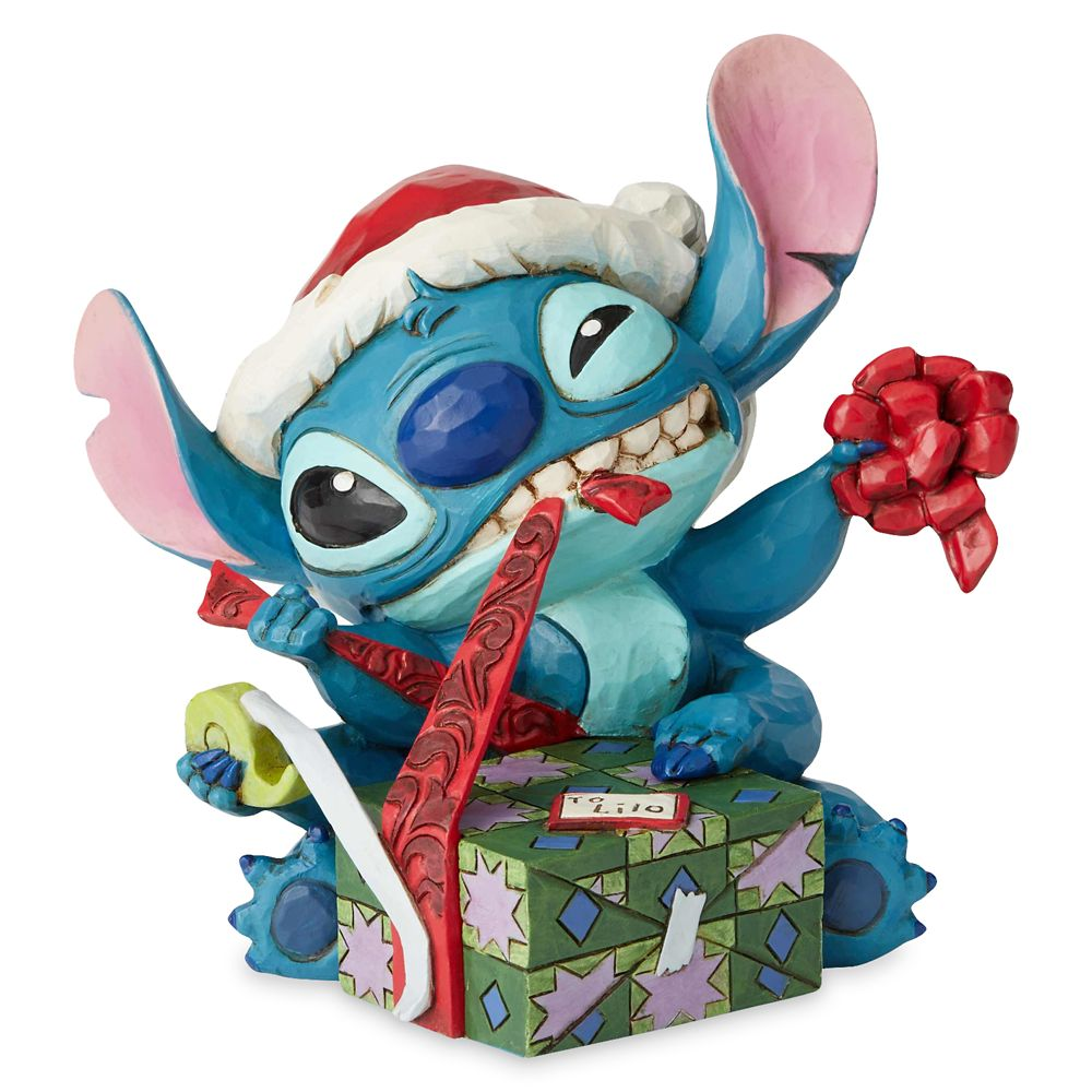 Stitch ''Bad Wrap'' Figure by Jim Shore