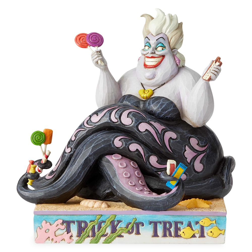 Ursula ''Deliciously Greedy'' Figure by Jim Shore Official shopDisney