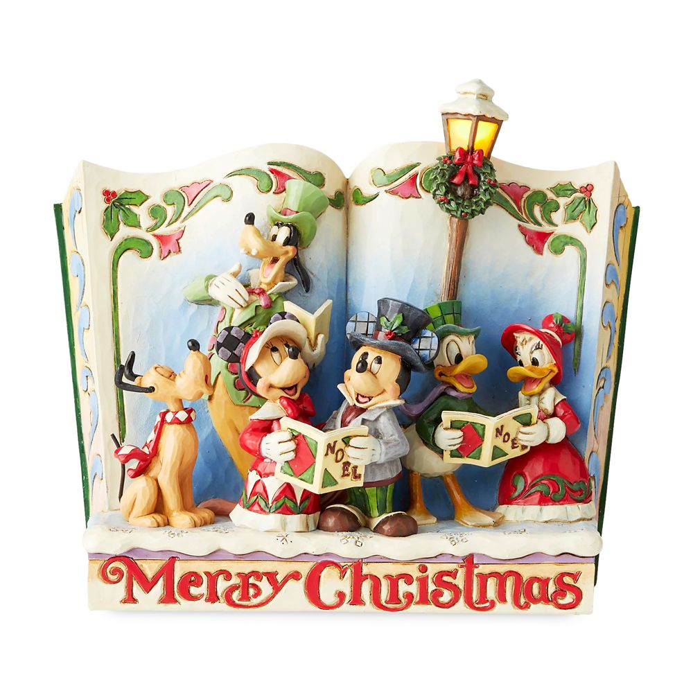 Mickey Mouse and Friends ''Storybook Christmas Carol'' Figure by Jim Shore