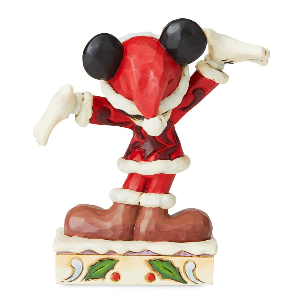 Mickey Mouse ''Christmas Personality'' Figure by Jim Shore