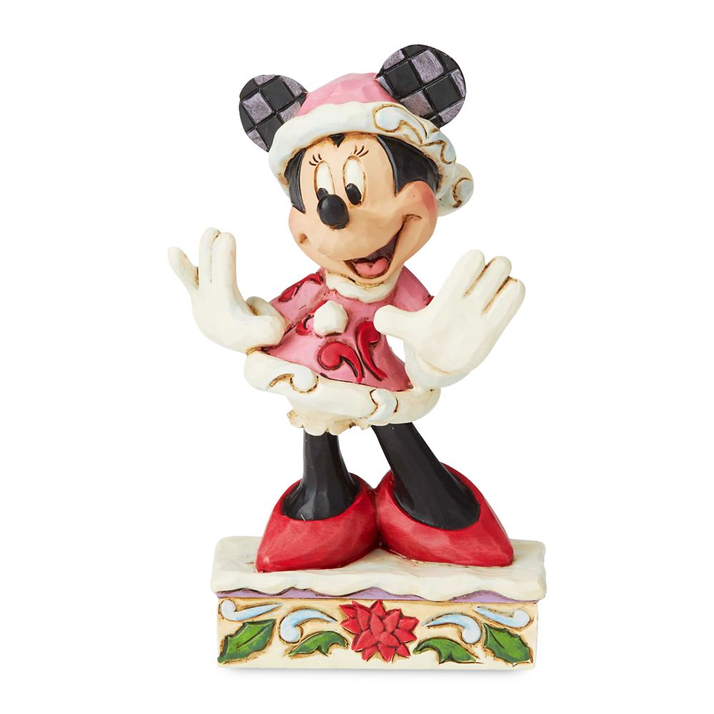 Minnie Mouse ''Christmas Personality'' Figure by Jim Shore