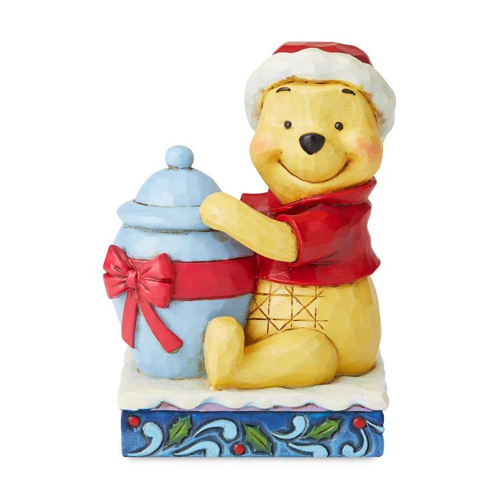 Winnie the Pooh ''Christmas Personality'' Figure by Jim Shore