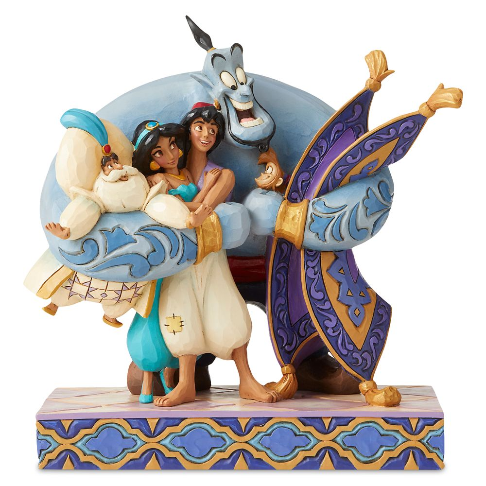 Aladdin ''Group Hug'' Figurine by Jim Shore