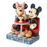 Mickey and Minnie Mouse ''Love Comes in Many Flavors'' Figure by Jim Shore