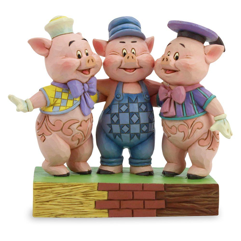 Three Little Pigs ''Squealing Siblings'' Figure by Jim Shore
