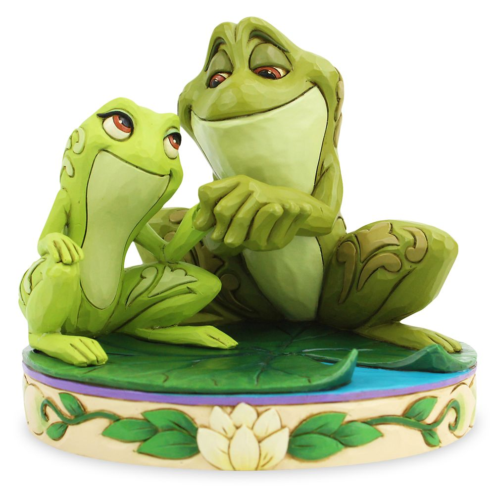 Tiana and Naveen ''Amorous Amphibians'' Figure by Jim Shore – The Princess and the Frog