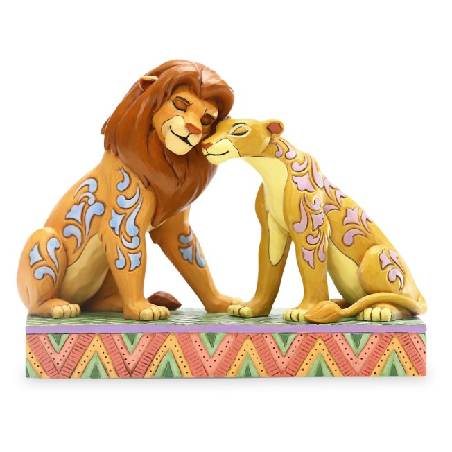 Simba and Nala ''Savannah Sweethearts'' Figure by Jim Shore – The Lion King