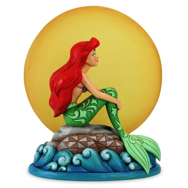 Ariel ''Mermaid by Moonlight'' Light-Up Figure by Jim Shore – The Little Mermaid