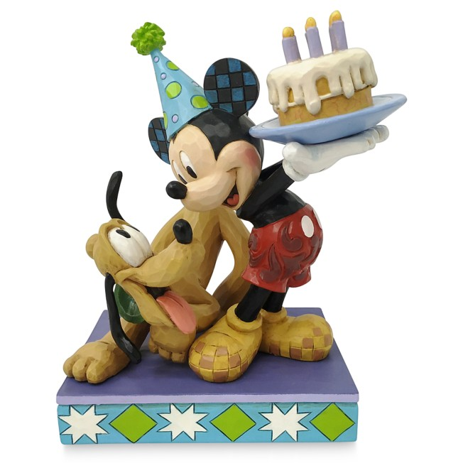 Mickey Mouse and Pluto ''Happy Birthday, Pal!'' Figure by Jim Shore