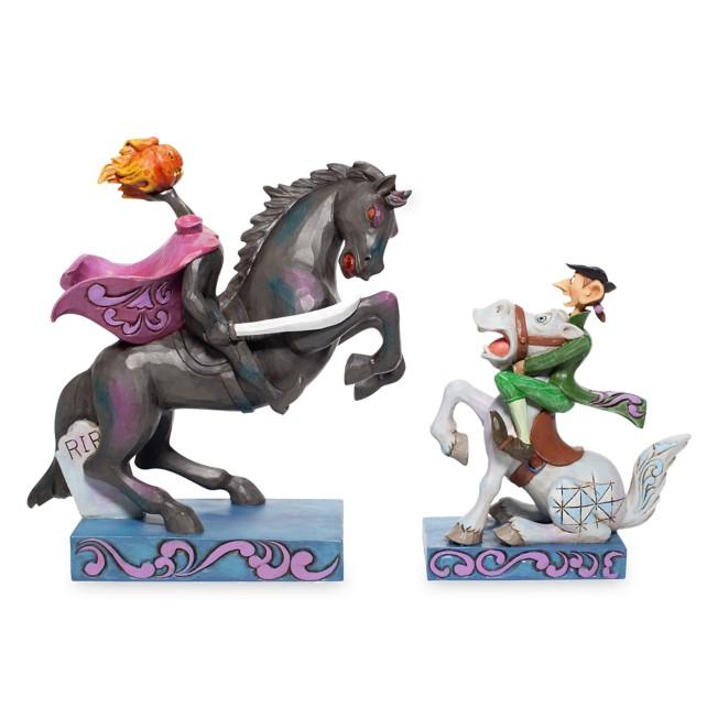 The Headless Horseman and Ichabod ''Head's Up, Ichabod'' Figure Set by Jim Shore