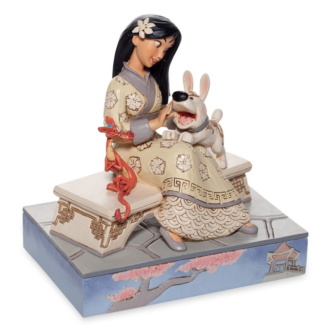 Mulan ''White Woodland'' Figure by Jim Shore