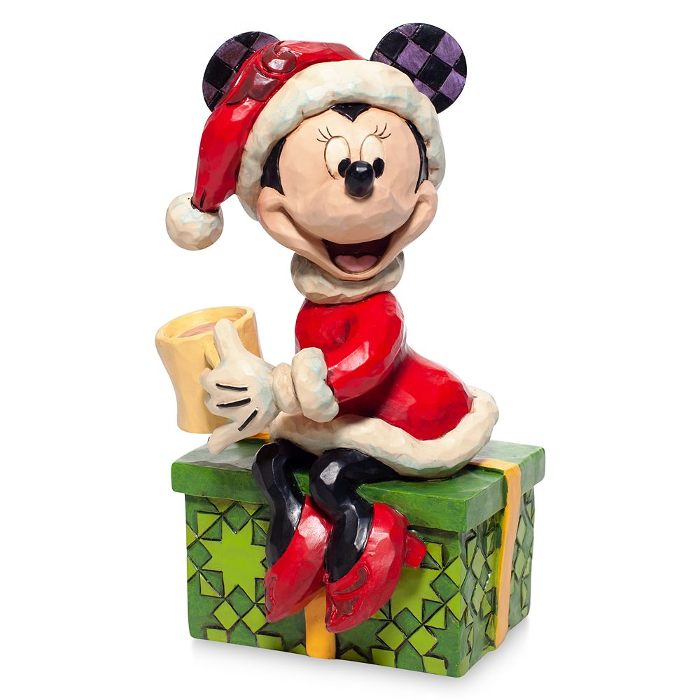 Santa Minnie Mouse ''Chocolate Delight'' Figure by Jim Shore