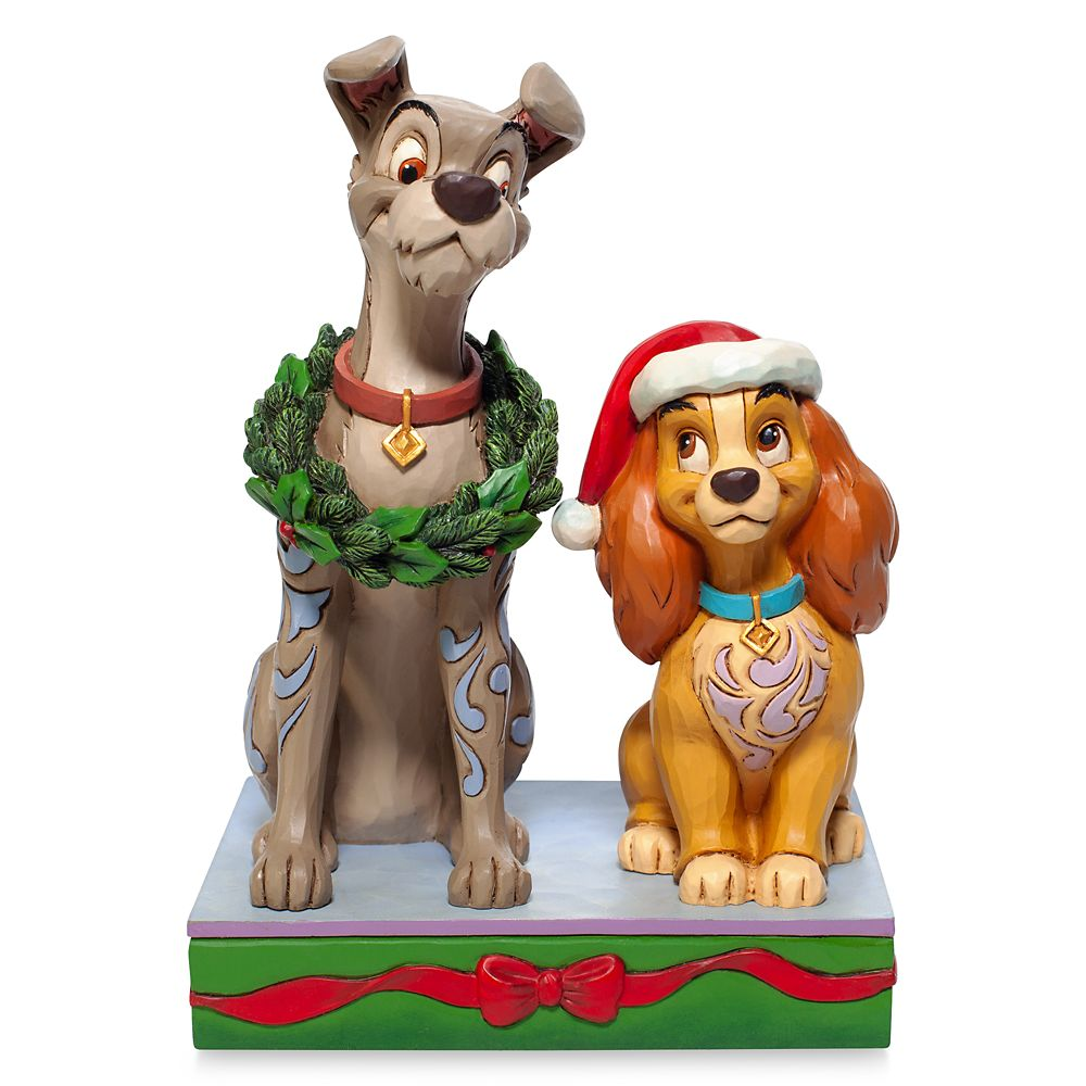 Lady and the Tramp ''Decked Out Dogs'' Figure by Jim Shore