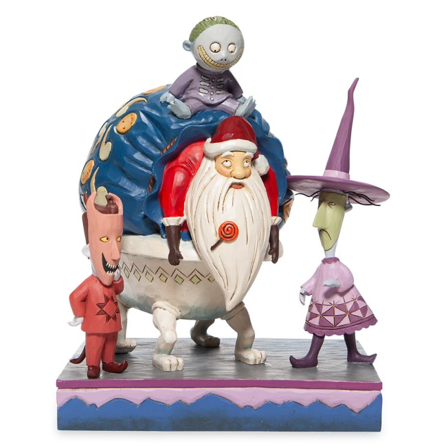Lock, Shock, and Barrel ''Bagged and Delivered'' Figure by Jim Shore – The Nightmare Before Christmas