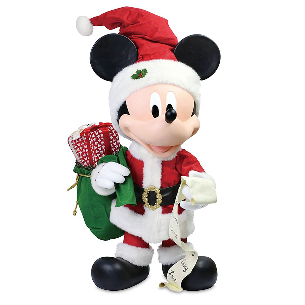 Mickey Mouse ''Merry Mickey'' Holiday Figure by Department 56