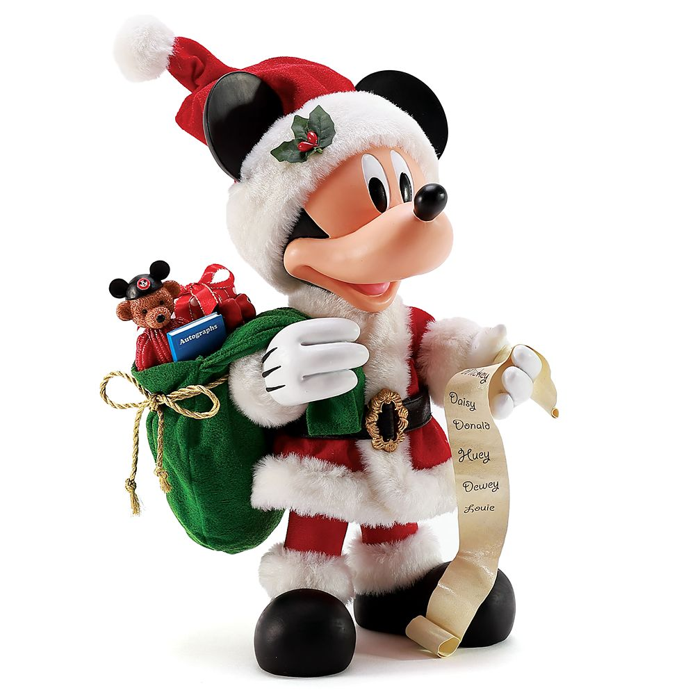 Mickey Mouse ''Special Gifts'' Possible Dreams Holiday Figure by Department 56