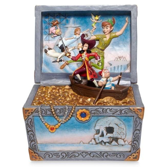 Peter Pan ''Treasure-Strewn Tableau'' Figure by Jim Shore