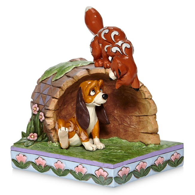 The Fox and the Hound ''Unlikely Friends''  Figure by Jim Shore