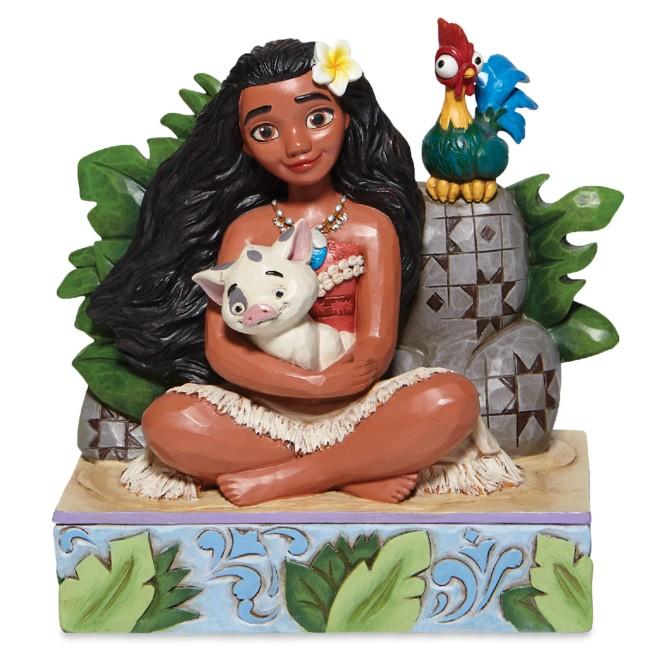 Moana, Pua, and Hei Hei ''Welcome to Motunui'' Figure by Jim Shore