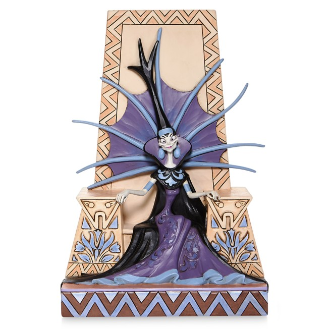 Yzma ''Emaciated Evil'' Figure by Jim Shore – The Emperor's New Groove