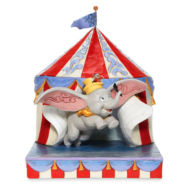 Dumbo and Timothy Mouse ''Over the Big Top'' Figure by Jim Shore