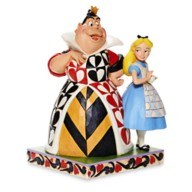 Alice and Queen of Hearts ''Chaos and Curiosity'' Figure by Jim Shore – Alice in Wonderland