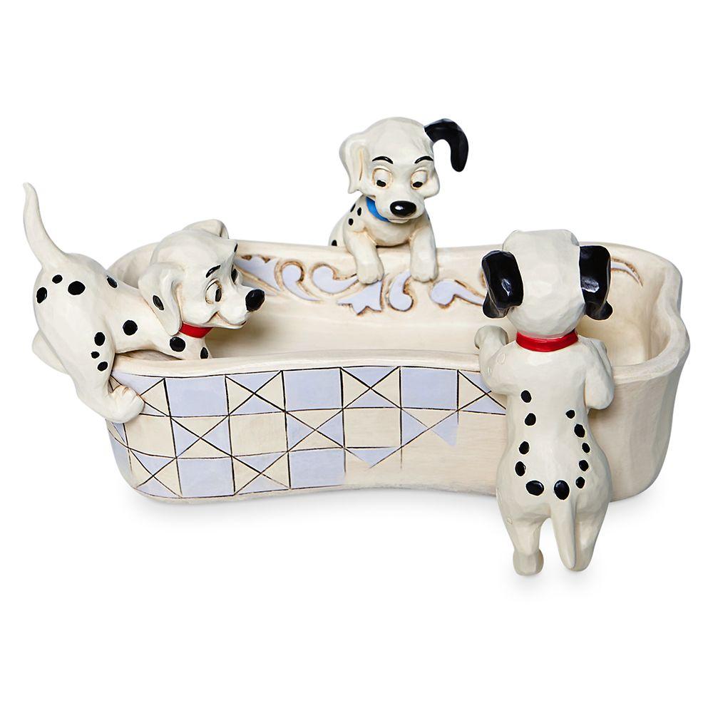 101 Dalmatians Puppy Bowl Trinket Tray by Jim Shore Official shopDisney