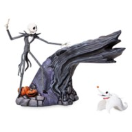 Jack Skellington with Levitating Zero Figure by Grand Jester Studios – The Nightmare Before Christmas
