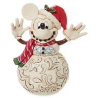 Mickey Mouse ''Snowy Smiles'' Figure by Jim Shore