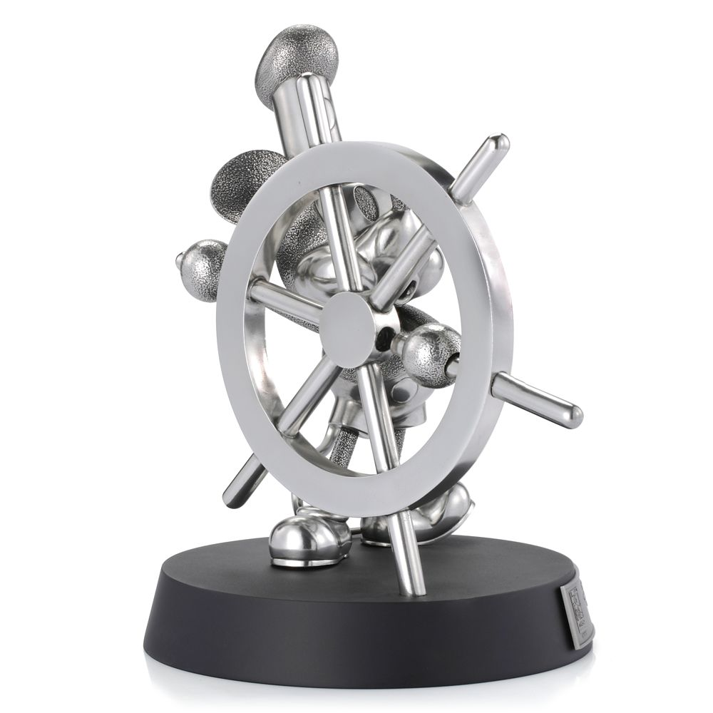 Mickey Mouse Steamboat Willie Pewter Figurine by Royal Selangor – Limited Edition