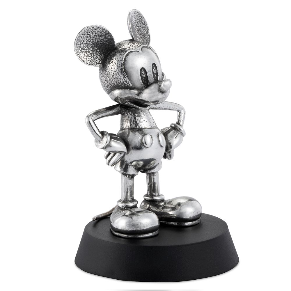 Mickey Mouse Pewter Figurine by Royal Selangor