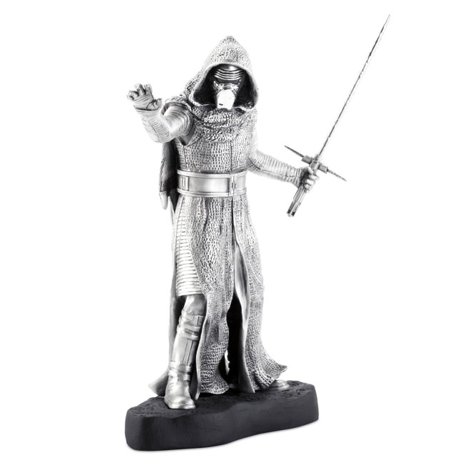 Kylo Ren Pewter Figurine by Royal Selangor – Star Wars – Limited Edition