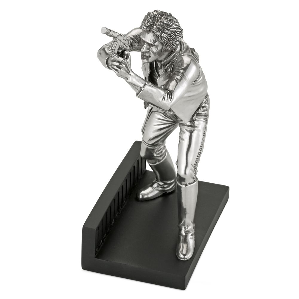Han Solo Pewter Figurine by Royal Selangor – Star Wars – Limited Edition
