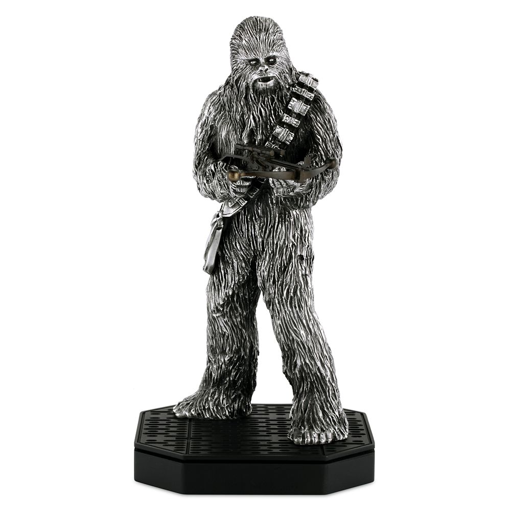 Chewbacca Pewter Figurine by Royal Selangor – Star Wars – Limited Edition