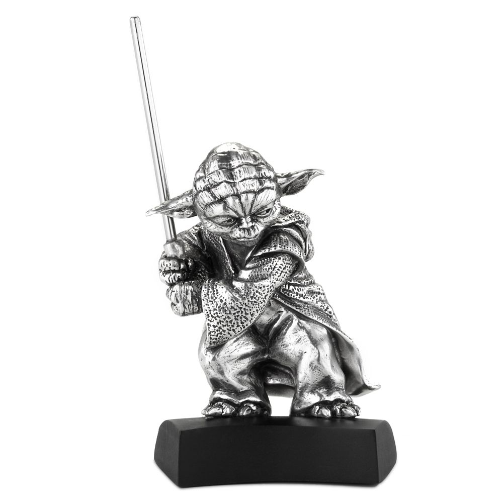 Yoda Pewter Figurine by Royal Selangor – Star Wars