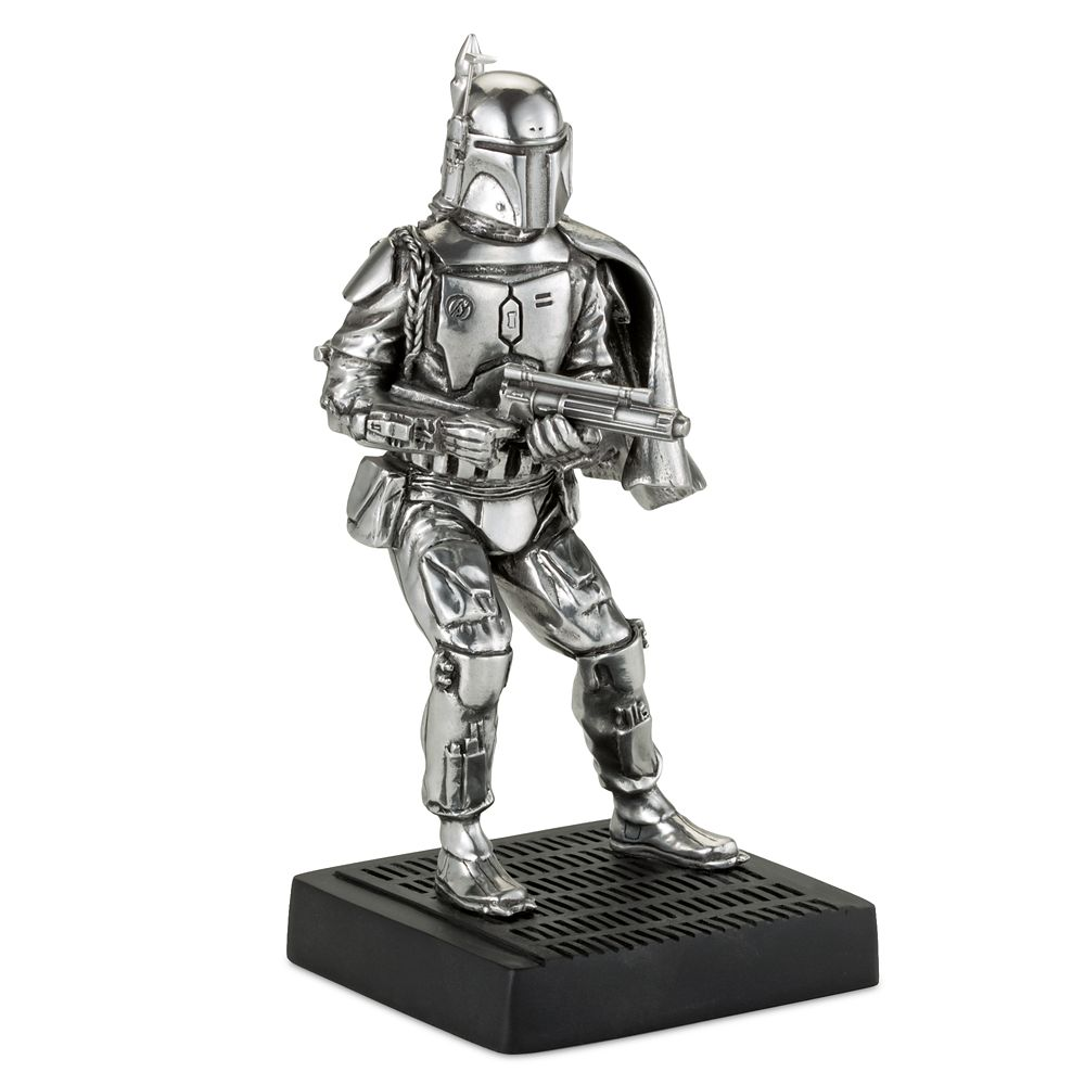 Boba Fett Pewter Figurine by Royal Selangor – Star Wars