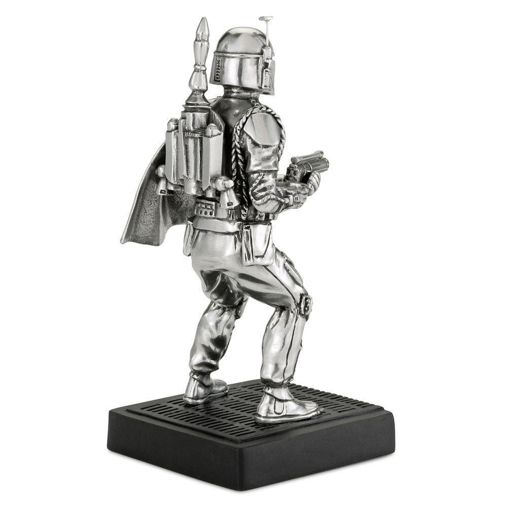Boba Fett Pewter Figurine by Royal Selangor – Star Wars