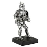 Disney Boba Fett Pewter Figurine by Royal Selangor – Star Wars
