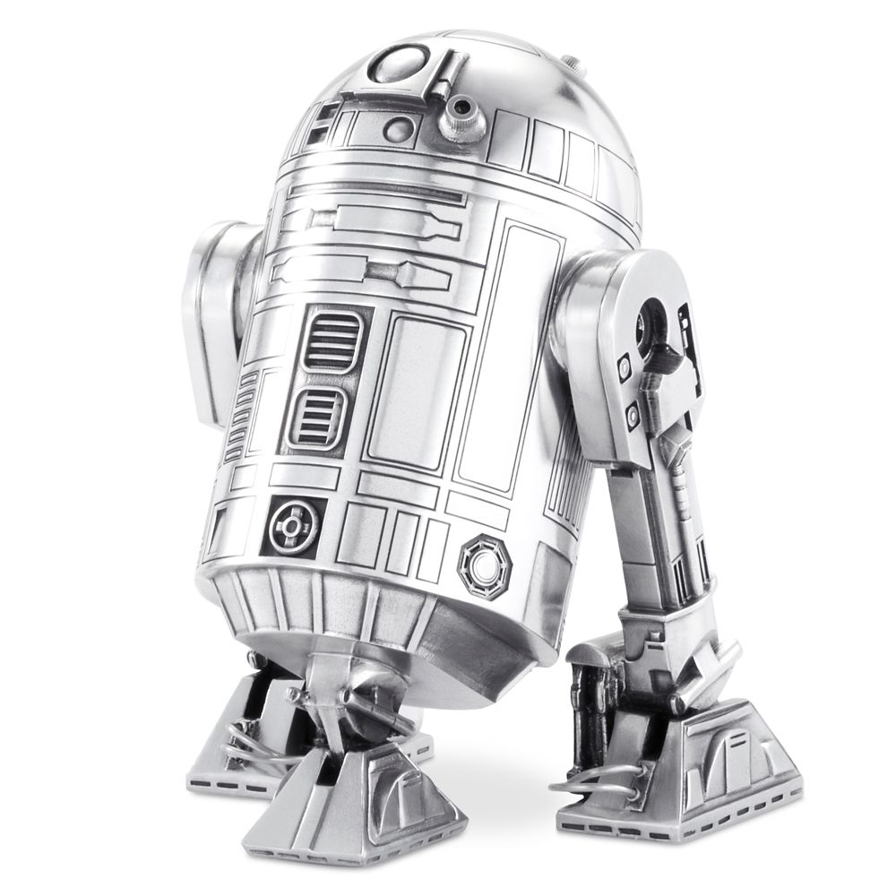 R2-D2 Pewter Figurine Canister by Royal Selangor – Star Wars