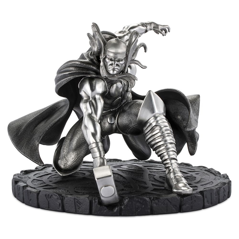 Thor God of Thunder Pewter Figurine by Royal Selangor – Limited Edition