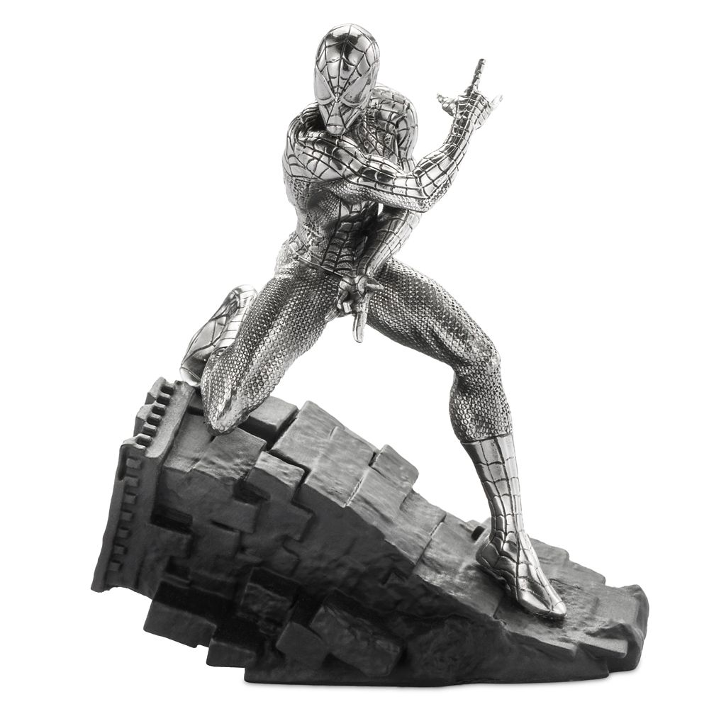 Spider-Man Webslinger Pewter Figurine by Royal Selangor