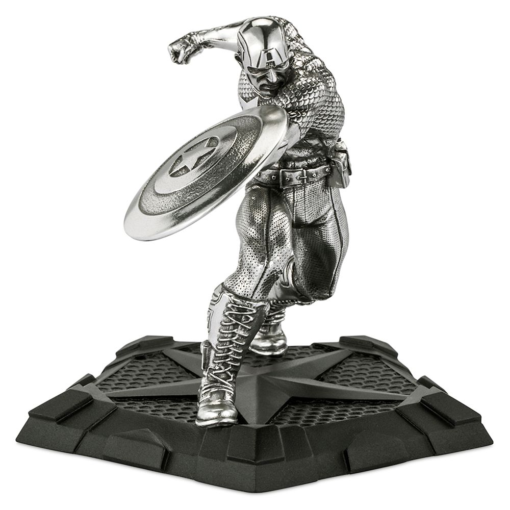 Captain America First Avenger Pewter Figurine by Royal Selangor