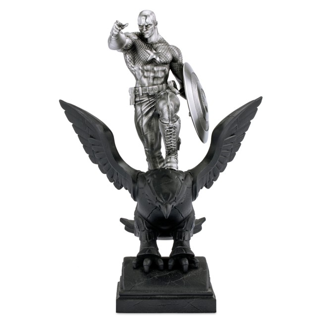 Captain America Resolute Pewter Figurine by Royal Selangor – Limited Edition