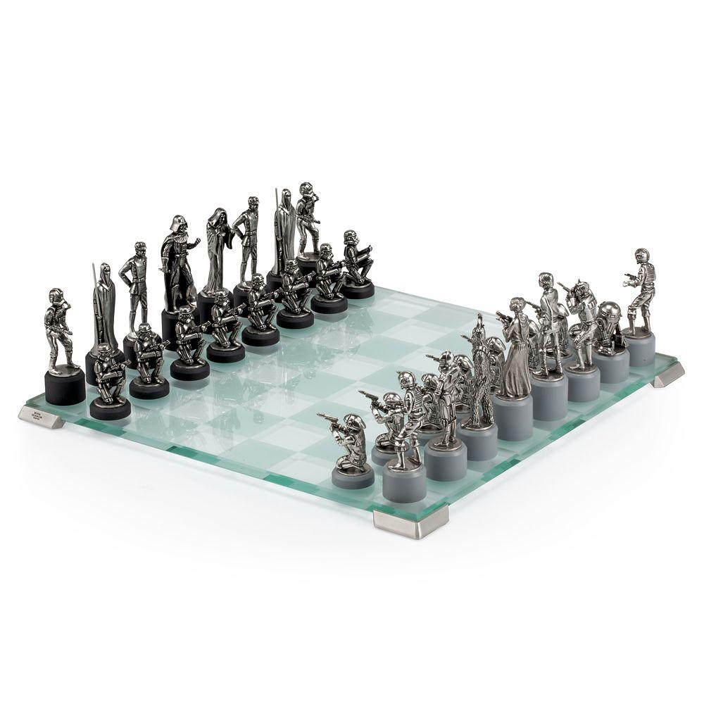 Star Wars Pewter Chess Set by Royal Selangor